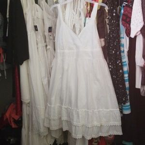 Dresses & Skirts - WHITE SPEED CONTROL DRESS NY  cl